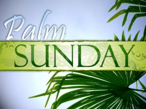 Palm Sunday – join us!