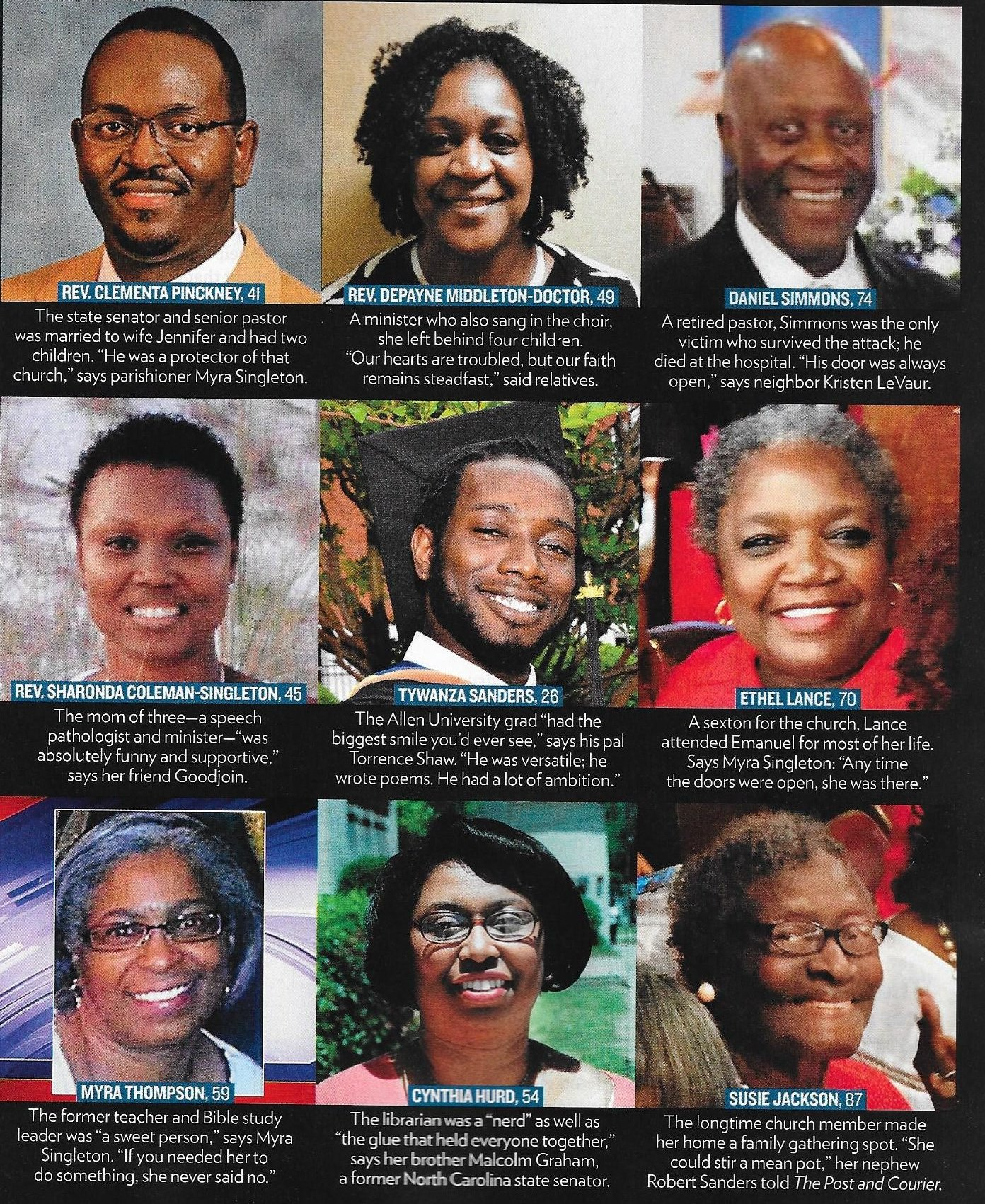 Remembering The Mother Emanuel 9 First Presbyterian