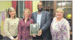 FPC receives Plaque of Gratitude